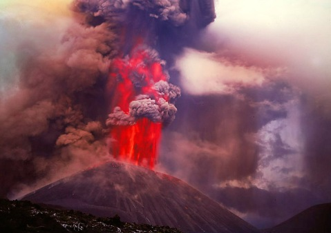Desconocemos el volcán y su ubicación - Gráfica por Гиппенрейтер